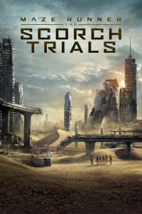 "Poster for the movie ""Maze Runner: The Scorch Trials"""