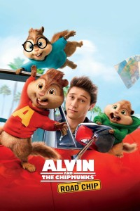 "Poster for the movie ""Alvin and the Chipmunks: The Road Chip"""
