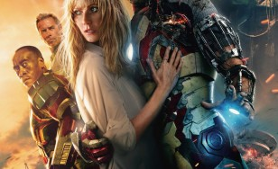 "Poster for the movie ""Iron Man 3"""