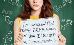 "Poster for the movie ""Easy A"""
