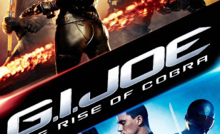 "Poster for the movie ""G.I. Joe: The Rise of Cobra"""
