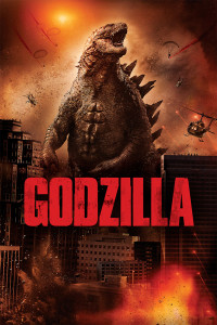"Poster for the movie ""Godzilla"""