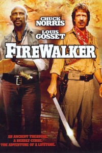 "Poster for the movie ""Firewalker"""