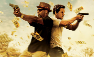 "Poster for the movie ""2 Guns"""