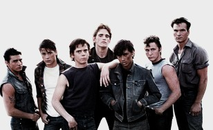 "Poster for the movie ""The Outsiders"""