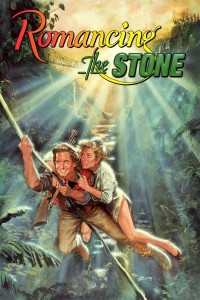 "Poster for the movie ""Romancing the Stone"""