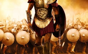 "Poster for the movie ""Immortals"""