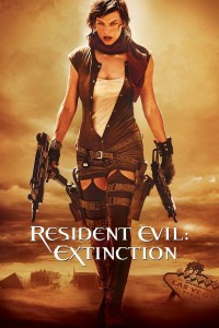 "Poster for the movie ""Resident Evil: Extinction"""