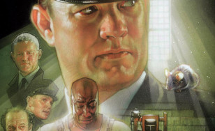 "Poster for the movie ""The Green Mile"""