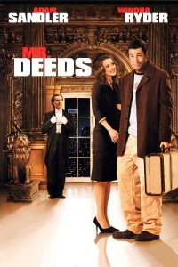"Poster for the movie ""Mr. Deeds"""