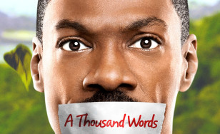 "Poster for the movie ""A Thousand Words"""