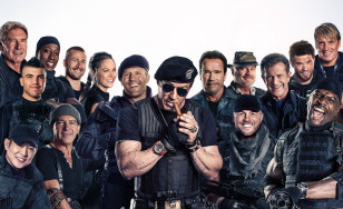 "Poster for the movie ""The Expendables 3"""