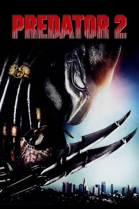"Poster for the movie ""Predator 2"""