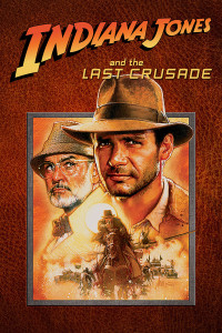 "Poster for the movie ""Indiana Jones and the Last Crusade"""