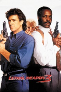 "Poster for the movie ""Lethal Weapon 3"""