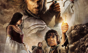 "Poster for the movie ""The Lord of the Rings: The Return of the King"""
