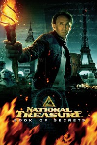 "Poster for the movie ""National Treasure: Book of Secrets"""