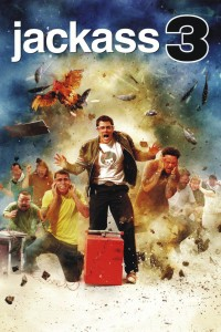 "Poster for the movie ""Jackass 3D"""
