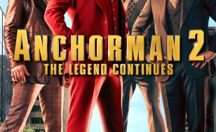"Poster for the movie ""Anchorman 2: The Legend Continues"""