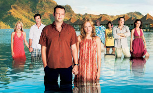"Poster for the movie ""Couples Retreat"""