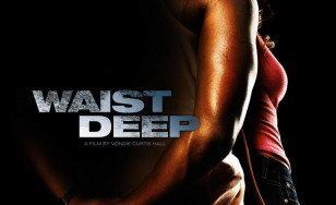 "Poster for the movie ""Waist Deep"""