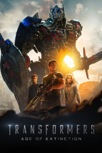 "Poster for the movie ""Transformers: Age of Extinction"""