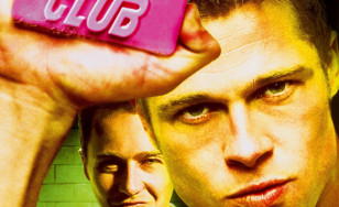 "Poster for the movie ""Fight Club"""