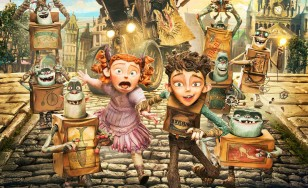 "Poster for the movie ""The Boxtrolls"""