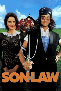 "Poster for the movie ""Son in Law"""