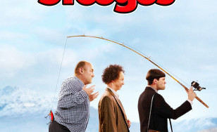"Poster for the movie ""The Three Stooges"""