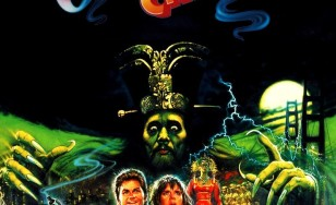 """Poster for the movie """"Big Trouble in Little China"""""""