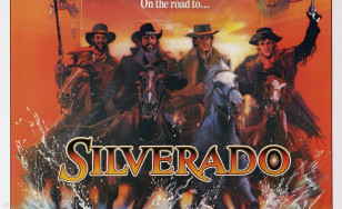 "Poster for the movie ""Silverado"""