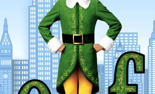 "Poster for the movie ""Elf"""