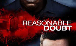 "Poster for the movie ""Reasonable Doubt"""