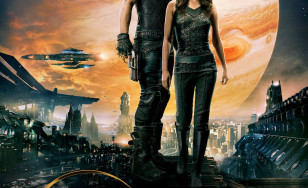 "Poster for the movie ""Jupiter Ascending"""
