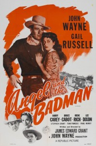 "Poster for the movie ""Angel and the Badman"""
