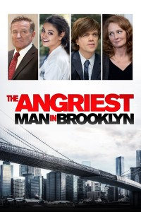 "Poster for the movie ""The Angriest Man in Brooklyn"""