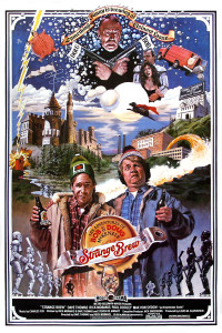 "Poster for the movie ""Strange Brew"""