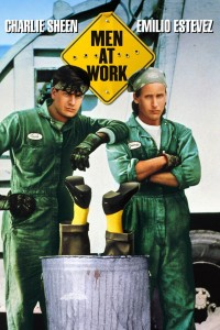 "Poster for the movie ""Men at Work"""