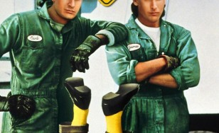 """Poster for the movie """"Men at Work"""""""