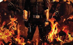 "Poster for the movie ""The Expendables 2"""