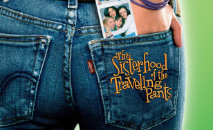 "Poster for the movie ""The Sisterhood of the Traveling Pants"""