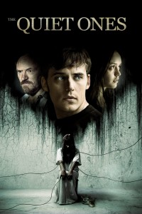 "Poster for the movie ""The Quiet Ones"""