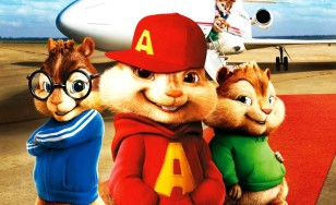 "Poster for the movie ""Alvin and the Chipmunks: The Squeakquel"""