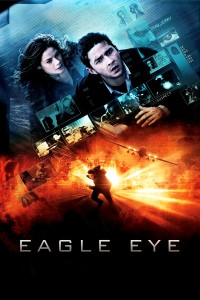 "Poster for the movie ""Eagle Eye"""