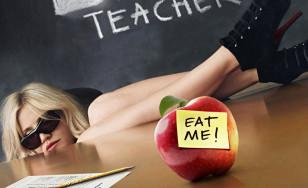 "Poster for the movie ""Bad Teacher"""