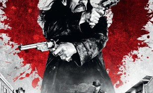 "Poster for the movie ""Dead in Tombstone"""