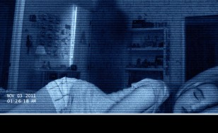 """Poster for the movie """"Paranormal Activity 4"""""""