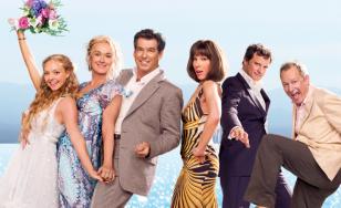 """Poster for the movie """"Mamma Mia!"""""""