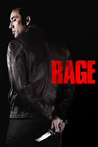 "Poster for the movie ""Rage"""